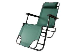 Кресло-шезлонг складное 2 позиции фото